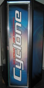 Cyclone StandUp Tanning Machine No Lines Tanning Salon Miami Beach Florida