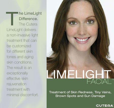 Cutera LimeLight Facial Skin Rejuvenation Treatment, Miami Beach Florida No Lines Med Spa